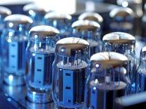 Amplificadores audiophile da lâmpada de alta fidelidade imagem de stock