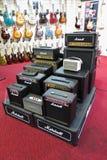 Amplificadores da guitarra elétrica foto de stock royalty free
