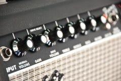 Amplificateur de guitare Photographie stock
