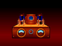 Amplificateur de Steampunk Photos stock
