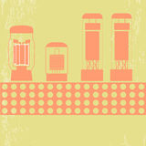 Amplificateur de tube électronique photos libres de droits