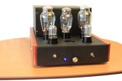 Amplificateur de tube électronique sur 300B Images stock