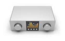 Amplificateur/récepteur Photos stock