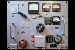 Amplificateur russe R-140 Photos libres de droits