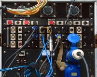 Amplificateur sain lourd photo stock