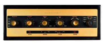 Amplificateur stéréophonique de valve Image stock