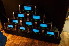 Amplificateurs audio de McIntosh Photo stock