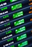 Amplification du marché boursier Photo libre de droits