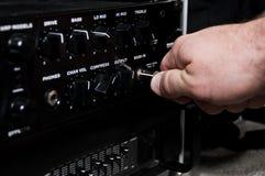 Amplificatore immagine stock