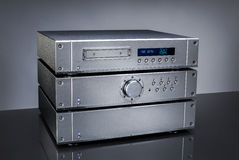Amplificatore audio fotografie stock