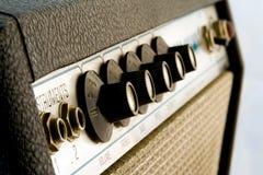 amplificatore degli anni 60 fotografia stock