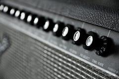 Amplificatore della chitarra fotografie stock libere da diritti