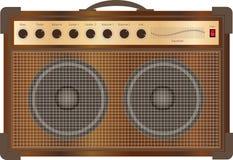 Amplificatore della chitarra immagini stock