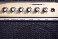 Amplificatore della chitarra Fotografia Stock