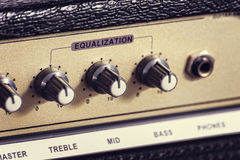Amplificatore della chitarra Immagini Stock Libere da Diritti