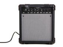 Amplificatore della chitarra elettrica Fotografie Stock