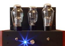 Amplificatore della valvola elettronica immagini stock