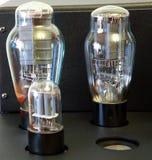 Amplificatore della valvola elettronica Fotografie Stock
