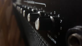 Amplificatore di musica Fotografie Stock Libere da Diritti
