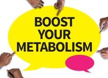 Amplifichi il vostro metabolismo Fotografia Stock