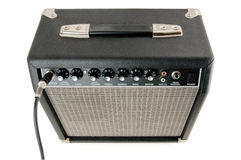 Amplifier. Isolated on a white background royalty free stock photos