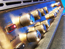 Amplifier close up Stock Images