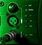 Amplifier Control Panel Stock Photos