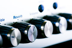 Amplifier controls Stock Images