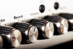 Amplifier controls Royalty Free Stock Images