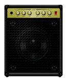 Amplifier Eleven. Guitar amplifier where all the dials go to eleven Stock Images