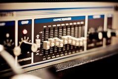 Amplifier equipment Stock Image