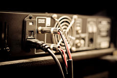 Amplifier equipment Royalty Free Stock Photo