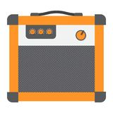 Amplifier flat icon, music and instrument, Stock Photos