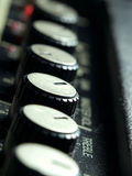 Amplifier knobs Stock Photography