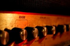 Amplifier on macro Royalty Free Stock Images