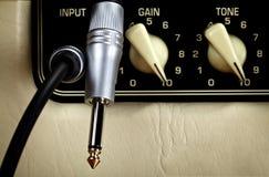 Amplifier Panel Stock Photo