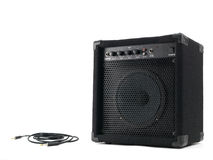 Amplifier Speaker Stock Photo