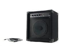 Amplifier Speaker Stock Photo