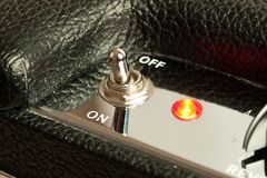 Amplifier switch Stock Image