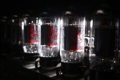 Amplifier valves Royalty Free Stock Photo
