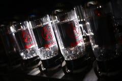 Amplifier valves Stock Photo