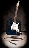 amplifikator gitara elektryczna Fotografia Stock