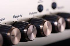 amplifikator kontrola Zdjęcia Stock