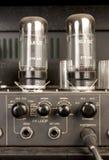 amplifikatoru audio lampy sygnał Obraz Stock