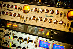 Amplifikatoru wyposażenie Zdjęcia Stock