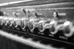 Amplifire della chitarra Immagine Stock