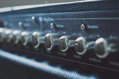 Amplifire della chitarra Immagine Stock Libera da Diritti