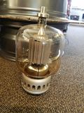 Vacuum tube. Amplify amp amplifier royalty free stock images