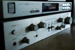 amplifyer radio fotografia stock