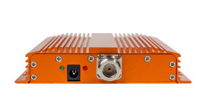 Amplifying signal repeater for GSM cellular phone Royalty Free Stock Images